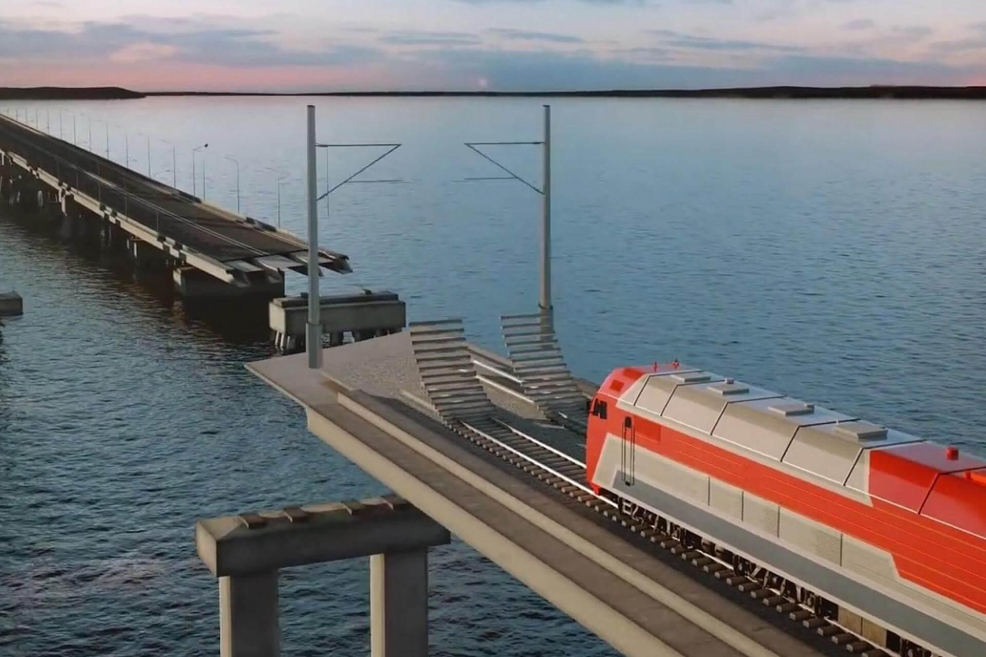 Сроки ввода железной дороги через Керченский пролив